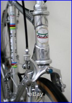 1980's Alan Super Record Road Bike 52 x 53 Campagnolo + Titanium + Cobalto
