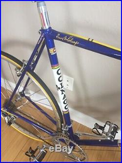 1982 Colnago Super. 58 cm. Concours condition. Campagnolo super record. Eroica