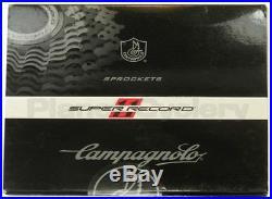 2016 Campagnolo Super Record 11 Speed Cassette 12-25 New Ti Titanium with lockring