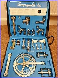 Boxed NOS Campagnolo Super Record 50th Anniversary Groupset, Limited No. 1210