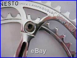 CAMPAGNOLO / COLNAGO SUPER RECORD VINTAGE CRANK SET 170mm, 53/42t, VVGC