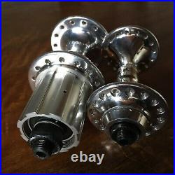 CAMPAGNOLO C-RECORD hubset (8sp) with alloy body SUPERRECORD version (SR)