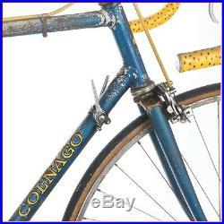 COLNAGO SUPER CAMPAGNOLO RECORD VINTAGE STEEL RACING ROAD BIKE 1972 70s MERCKX