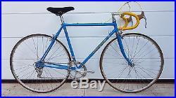 COLNAGO SUPER vintage italian road bike CAMPAGNOLO NUOVO RECORD
