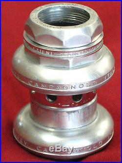 Campagnolo #4041 Super Record threaded alloy headset 1 x 24 TPI VGC
