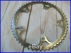 Campagnolo, BASSO pantographed, 53T Super Record Chainring 144 BCD Used Vintage