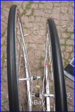Campagnolo Nuovo Record High Flange / Mavic Clincher Rim 28 / Super Wheelset