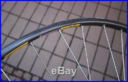 Campagnolo Nuovo Super Record Wheelset / Mavic GP4 Tubular / 36/36H 130mm ITA