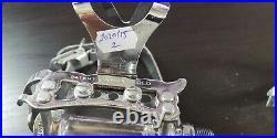 Campagnolo Super Nuovo Record era clips pedals ALE road bicycle VGC fixed pedal