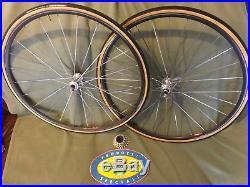 Campagnolo Super Nuovo record Mavic wheelset