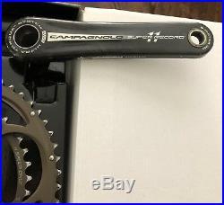 Campagnolo Super Record 11 172.5 39/53 Crank Set. Ultra-Torque CULT Bearings