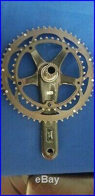 Campagnolo Super Record 11 speed Crankset 53/39 Titanium Spindle 172.5mm