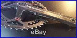 Campagnolo Super Record 11 speed carbon crankset chainset 172.5 mm 52 39 USED