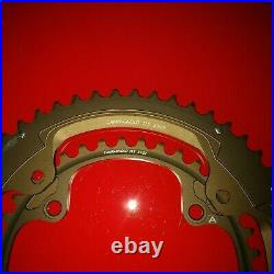 Campagnolo Super Record 11sp 145mm BCD Road, 53T + 39T. NOS