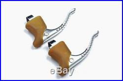 Campagnolo Super Record Bicycle Brake Levers Classic Road Bike Brakes NOS