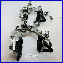 Campagnolo Super Record Brake Calipers Front & Rear Campy Brakeset Vintage