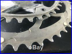 Campagnolo Super Record Carbon Crankset Used 172.5mm 39/53 Rings Used Under 100