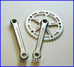 Campagnolo Super Record Engraved Crankset For BMX Pista Fixie Track New 44T Ring