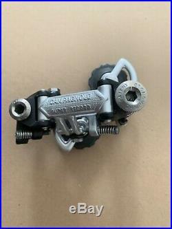Campagnolo Super Record First Génération Rear Dérailleur Titanium Bolt. Patent76