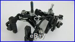 Campagnolo Super Record Front/Rear Dual Pivot Skeleton Brakeset, black