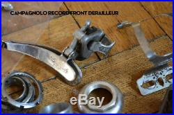 Campagnolo Super Record Lot Bundle Vintage Parts Repair Axle Headset Skewer