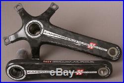 Campagnolo Super Record Steel Carbon Road Bike Crankset 170 CULT Ceramic Bearing