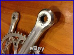 Campagnolo Super Record Vintage Chainset 42-52 170mm Cranks Very Nice