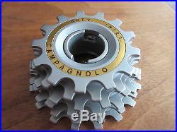 Campagnolo Super Record Vintage Freewheel Italian 13-18 Six Cogs NOS