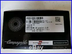 Campagnolo super record 11 speed cassette 11-29