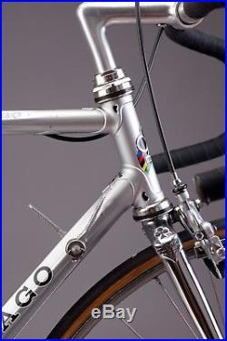 Colnago Master Piu vintage steel road bike Campagnolo Super Record Eroica ready