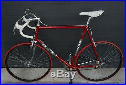 Colnago Super 1982 Rennrad Roadbike RH 65cm Campagnolo C Record Era Chorus 64 66