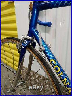 Colnago Super Campagnolo Super Record 1980 / 83 Era Frame Racing Bike Bici Corsa