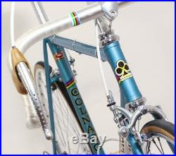 Colnago Super classic steel bike Campagnolo Record vintage eroica