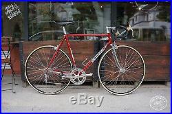 Colnago super profil saronni red Campagnolo super record titanium