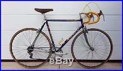 DE ROSA SAMMONTANA vintage italian road bike CAMPAGNOLO SUPER RECORD COLUMBUS