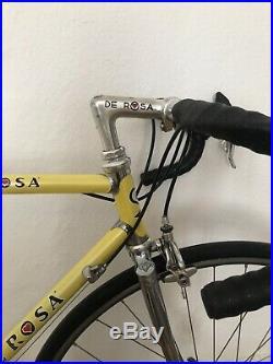 De Rosa Professional Roadbike Campagnolo C Record Colnago Super Rennrad Vintage
