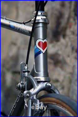De rosa professional campagnolo super record italian steel bike vintage eroica