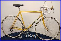 Eddy Merckx Professional Molteni Bicycle 55cm Campagnolo Super Record 1985