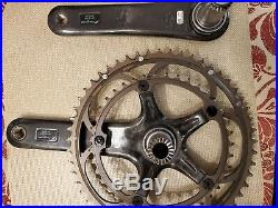 Fulcrum Racing Torq -RRS 10/11sp Crankset with CULT bearings. (Super Record OEM)