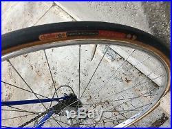Gios Torino Super Record 1977 road bicycle De Vlaeminck vintage steel Campagnolo