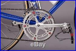 Gios Torino Super Record Campagnolo vintage steel road bike 58cm Brooklyn Team