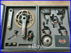 Groupset Rare Campagnolo Super Record 80th Anniversary 11 Speed, Boxed, Carbon