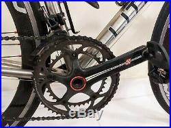 Litespeed Icon Medium (54 cm) T2 Campagnolo Super Record 11 Spd Bullet Road Bike