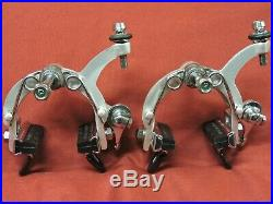 Mint Campagnolo Nuovo Super Record F & R Calipers 52 mm Long Reach with Full Bolts