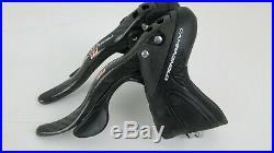 Nice Campagnolo Super Record 11 speed Ultrashift Ergopower Shifter set, 2011-14