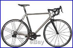 No. 22 Reactor Road Bike 56cm Large Custom Titanium Campagnolo Super Record 11
