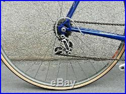 POGLIAGHI VINTAGE CAMPAGNOLO SUPER RECORD COLUMBUS SL 58CM rennrad bici corsa