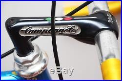Patelli Super Corsa Columbus Campagnolo Super Record crono shifters size 57