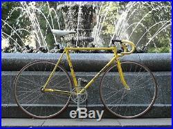 Rare Colnago Super Pista Bike, Campagnolo Record, 55cm CT, Pantographed