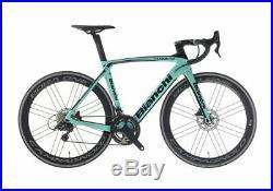Road Bike Bianchi Oltre Xr4 Disc Campagnolo Super Record 12v Shamal Ultr Size 53
